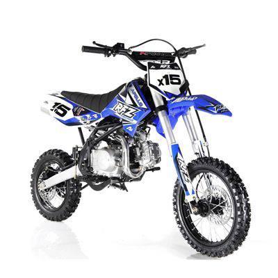 APOLLO DB-X15 125cc Manual Clutch Dirt Bike, 4 Stroke, Single Cylinder