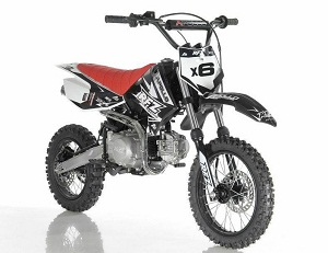 Apollo DB-X6 125cc Fully Automatic ( Kick Start ) 4 Stroke Air Cooled