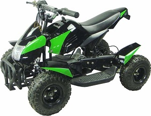 SMALL SPORTY ELECTRIC ATV FOR KIDS