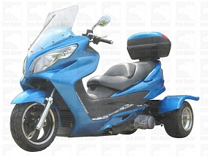 ice bear cyclone touring model 150cc trike