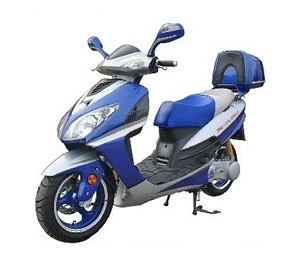 icebear 150cc sportx street gas scooter moped