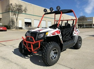 CAZADOR 170CC MID KIDS OR ADULTS UTV SIDE X SIDE NEW UTV 170CC AUTOMATIC WITH REVERSE