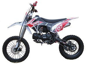 RPS EGL-07 125cc Dirt Bike, Manual, 4 Speed Transmission, Single Cylinder, Air Cooled, 4 Stroke - w/Shipping Included