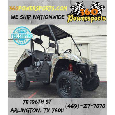 Taurus 400S utv side by side 400cc 4x4