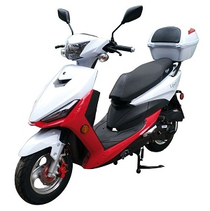 Vitacci Viper 49cc Scooter, 4 Stroke, Single-Cylinder, Air-Forced Cool