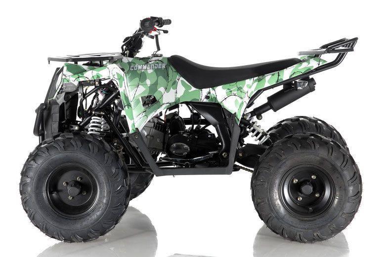 APOLLO COMMANDER 125CC ATV, Auto With Reverse 4-Stroke, Single Cylinder, OHC