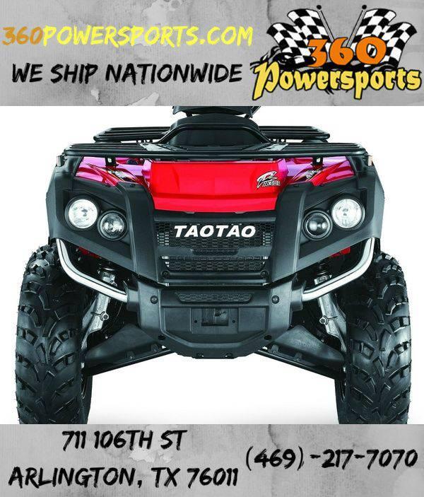ADVANCE TAOTAO ATV 300CC 4X4 ATA 300F FREELANDER 4X4 - (PRE-ORDER)