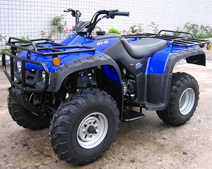 monster 250cc atv shaft drive