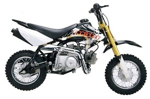 70cc dirt bike for kids in stock now