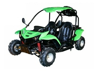 Cougar Cycle T-Rex 125cc Go Kart, 4 STROKE, Automatic with Reverse, Air Cooled