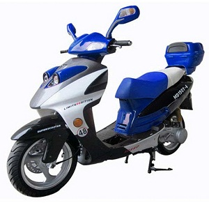 Cougar Cycle PHANTOM 150cc (QT-12) Scooter, 4 Stroke,Single Cylinder,Air-Forced Cool