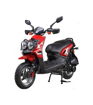 Vitacci ZUMA 50CC Scooter, 49.9cc CVT, Electric/Kick