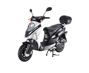 New Scooter 50cc Assembled