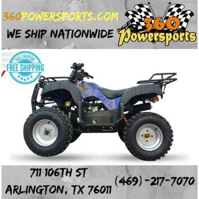 new atv 150 cc desert auto with reverse