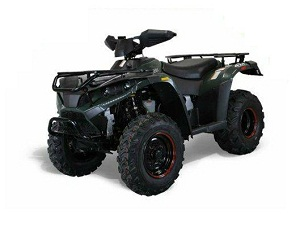 Linhai 4x4 300, Indy Suspension, Four-Stroke, Single-Cylinder, Shipped Fully Assembled Ready to Ride