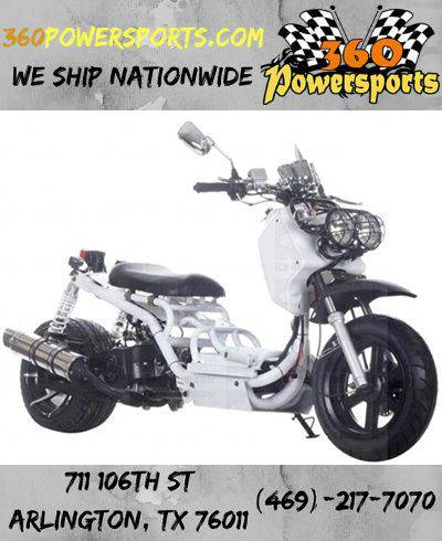 NEW 50CC FULLY AUTOMATIC PMZ50-19 SCOOTER HIGH END