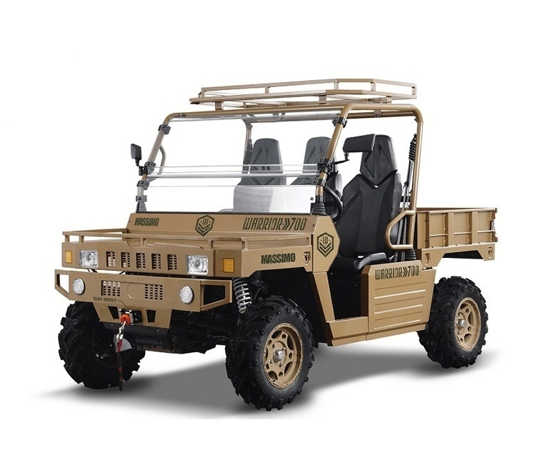 MASSIMO WARRIOR 700, 686cc 34HP, Electric, Liquid-Cooled, Single Cylinder  Free Shipping