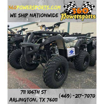 ATV 250D Huge 23 Inches Tires