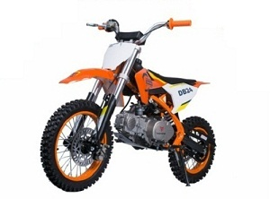 Taotao Db24 107Cc Dirt Bike,Air Cooled, 4-Stroke, Single-Cylinder