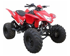 NEW ATV 250 CC TORNADO AUTO WITH REVERSE