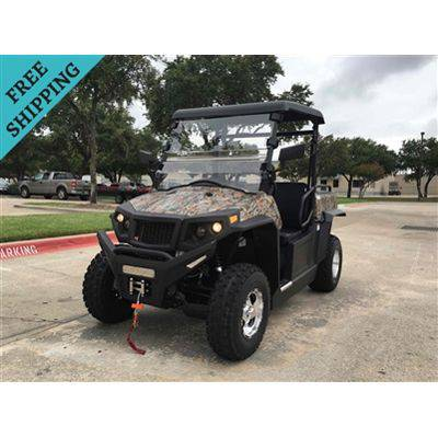 Buy Fully Loaded Cazador OUTFITTER 200 Golf Cart 4 Seater Street