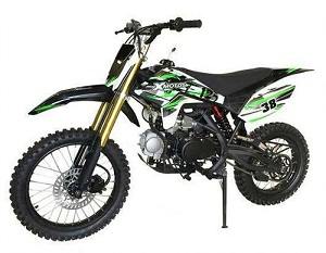 Ricky Power Sports XMOTO DELUXE DIRT bike 125cc